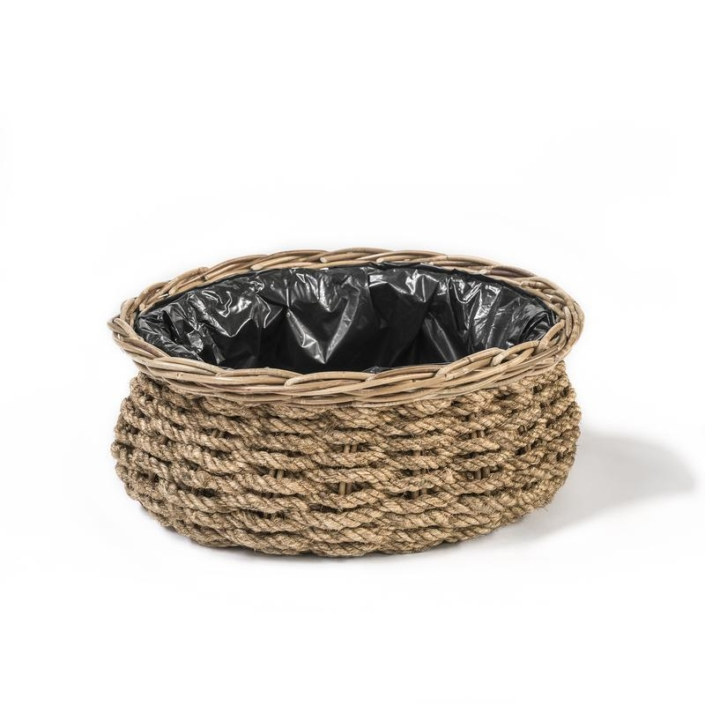 Wiklinowy koszyk donica LUCA