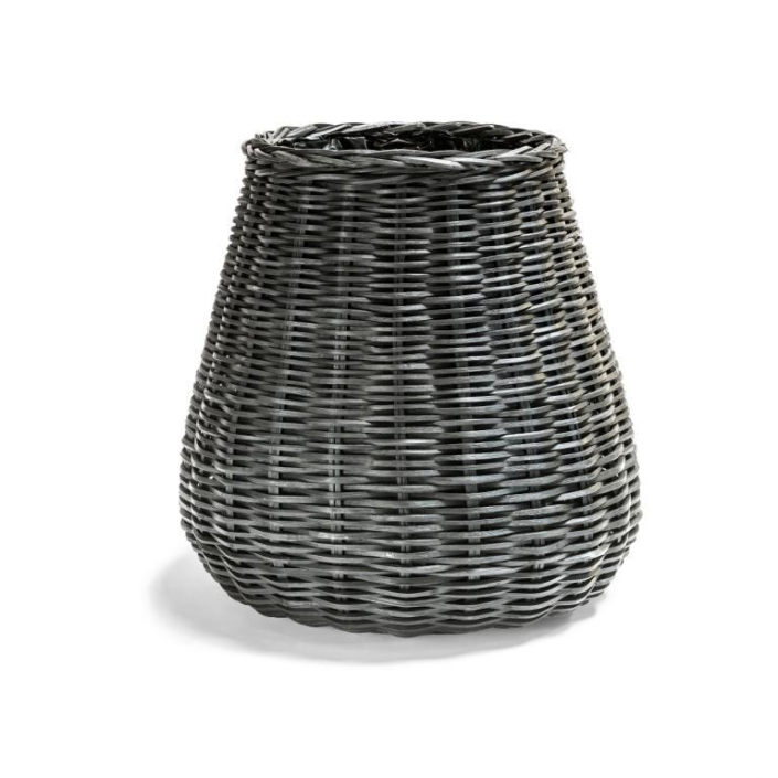 Wysoki koszyk donica z wikliny PALM