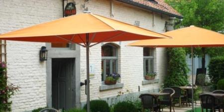 Wysoki parasol ogrodowy zewnętrzny Quattro