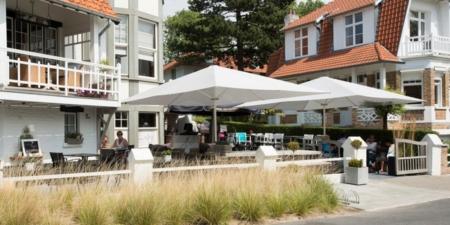 Zewnętrzny parasol restauracyjny MacSymo