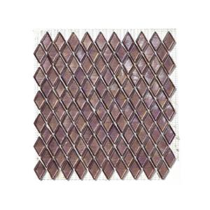 Śliwkowa mozaika ze szkła BARODA