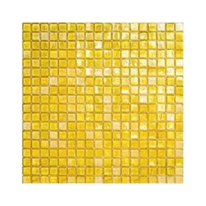 Żółta mozaika ze szkła 02 ALE