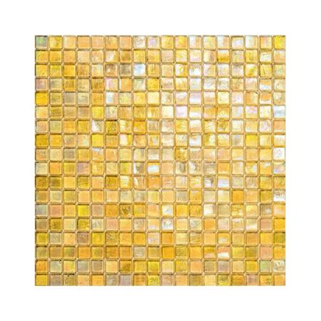 Żółta mozaika ze szkła 102 MANGO
