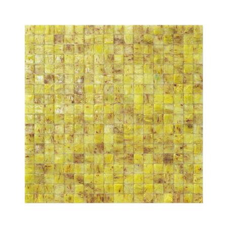 Żółto-brązowa mozaika ze szkła CILE