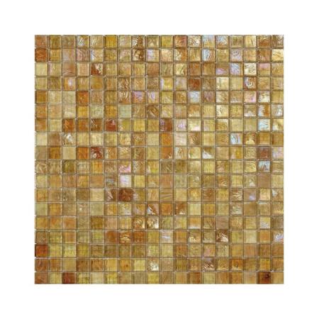 Żółto-brązowa mozaika ze szkła DAFFODIL
