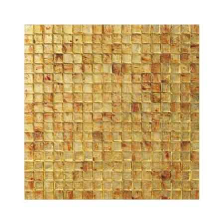 Żółto-brązowa mozaika ze szkła ELDORADO