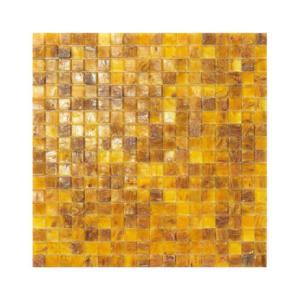 Żółto-brązowa mozaika ze szkła NEVADA