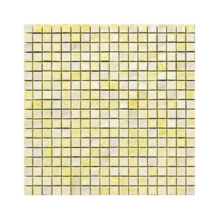 Żółto-kremowa mozaika ze szkła CADMIUM 3