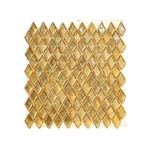 Żółto-złocista mozaika ze szkła BUVAGO
