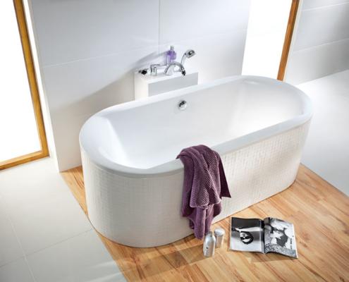 Aranżacja łazienki z wanną wolnostojącą