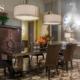 Aranżacja jadalni w stylu art Deco
