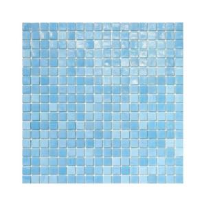 Błękitna mozaika ze szkła 17 GREGAL