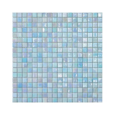 Błękitna mozaika ze szkła IRIS 1