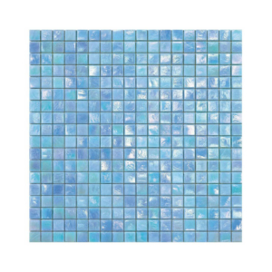 Błękitna mozaika ze szkła IRIS 2