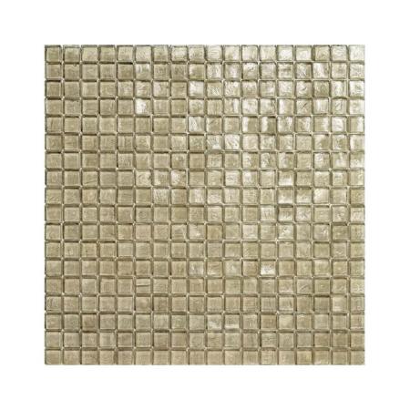 Beżowa mozaika ze szkła 11 ZINC