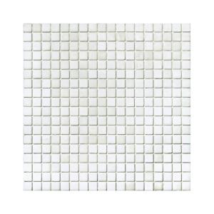 Biała mozaika ze szkła 20 CLOUDWHITE
