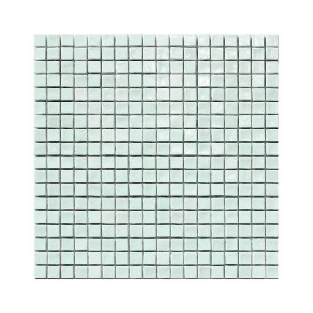 Biało-zielona mozaika ze szkła AQUAMARINE 0
