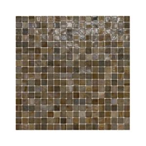 Brązowa mozaika ze szkła 09 SIROCO