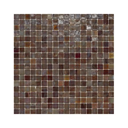 Brązowa mozaika ze szkła 10 TEHUANO