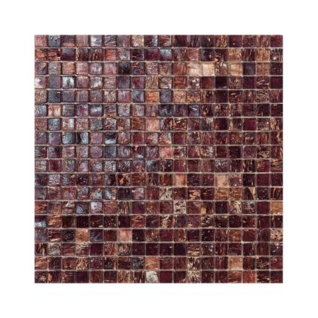 Brązowa mozaika ze szkła GALLES