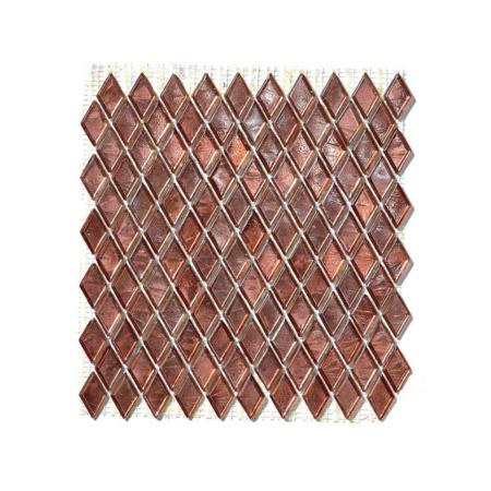 Brązowa mozaika ze szkła GYPSUM