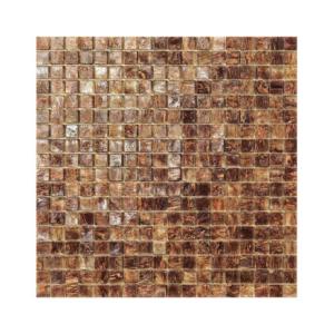 Brązowa mozaika ze szkła MALAWI
