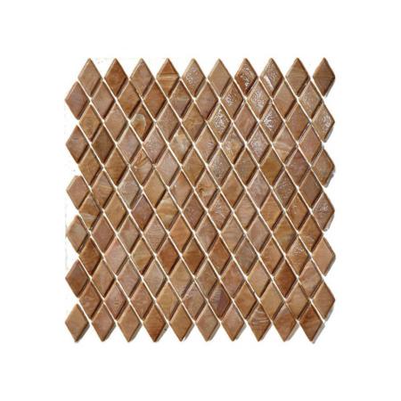 Brązowa mozaika ze szkła MOUMA
