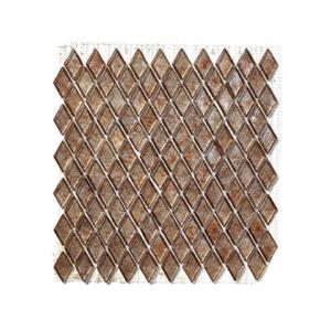Brązowa mozaika ze szkła NANOROD