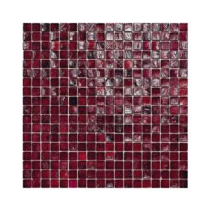 Burgundowa mozaika ze szkła 23 BLACKBERRY