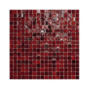 Burgundowa mozaika ze szkła 28 ROOTBEER