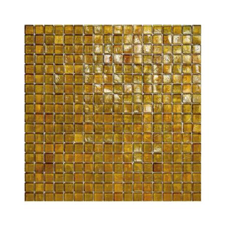 Ciemnożółta mozaika ze szkła 27 KELP