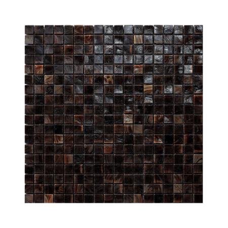 Ciemnobrązowa mozaika ze szkła CHESTNUT 4