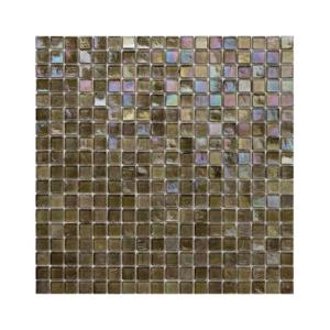 Ciemnooliwkowa mozaika ze szkła 110 GRAPES