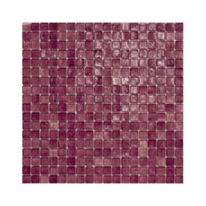 Ciemnoróżowa mozaika ze szkła 22 BEACHPLUM