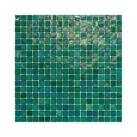 Ciemnozielona mozaika ze szkła 16 PASSAT