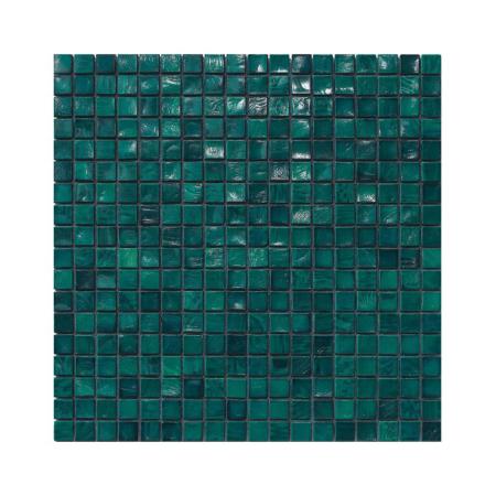 Ciemnozielona mozaika ze szkła AQUAMARINE 4