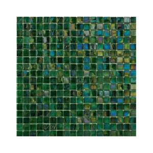 Ciemnozielona mozaika ze szkła MINT 4