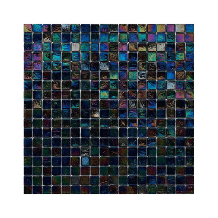 Czarna mozaika z tęczowym refleksem 146 RIBES
