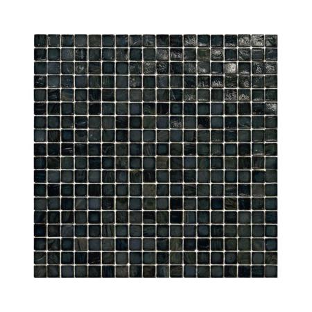 Czarna mozaika ze szkła 04 BERG