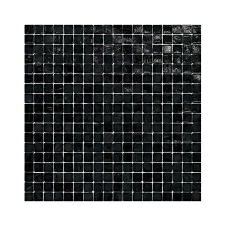 Czarna mozaika ze szkła BLACK