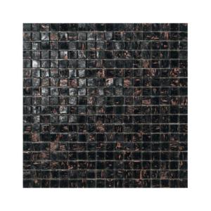 Czarno-brązowa mozaika ze szkła BORNEO