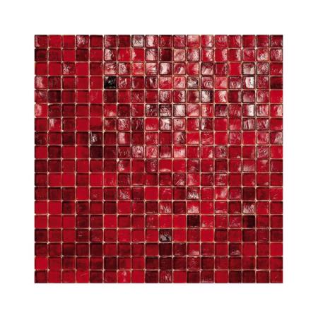 Czerwona mozaika ze szkła 40 CRIMSON