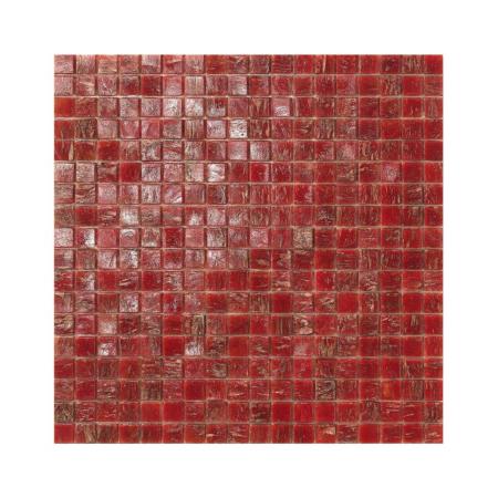 Czerwona mozaika ze szkła MONACO