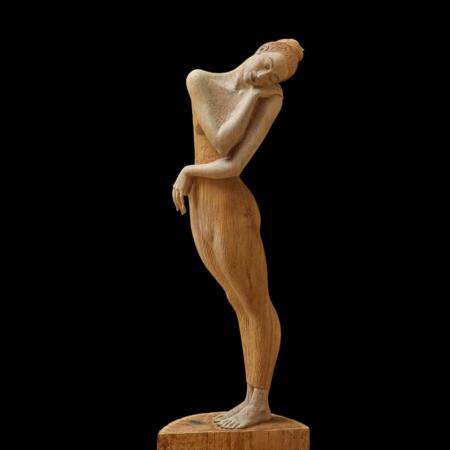 Drewniana rzeźba Bella Figura Malgorzata Chodakowska