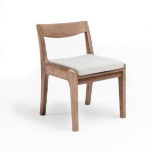 Drewniane krzesło ogrodowe CURVE