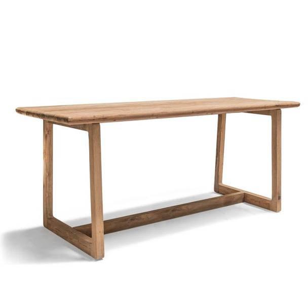 Drewniany stół barowy do ogrodu DENNIS