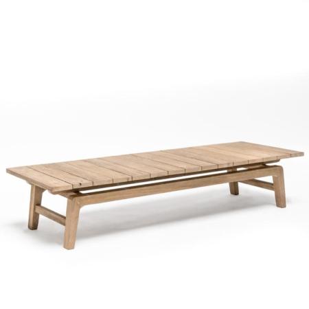 Drewniany stolik kawowy do ogrodu COPENHAGUE