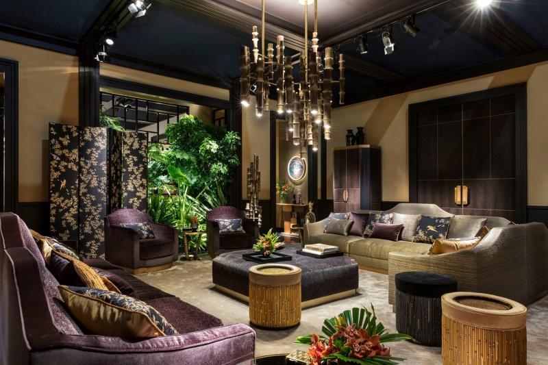 Ekskluzywny salon w orientalnym stylu