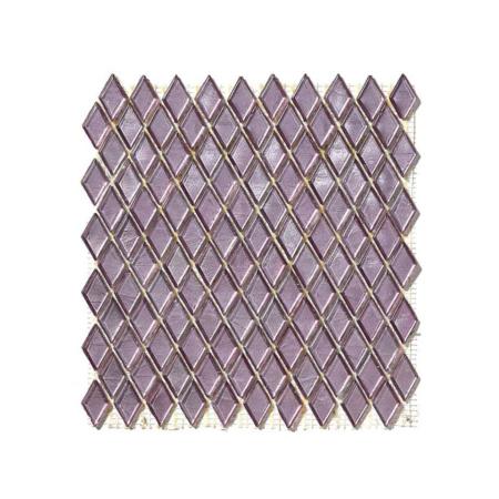 Fioletowa mozaika ze szkła AGORA