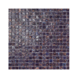 Fioletowa mozaika ze szkła FINLANDIA